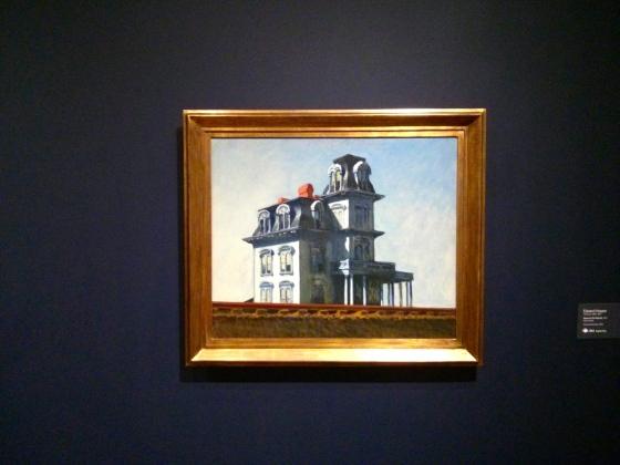 House by the Railroad, Edward Hopper, 1925