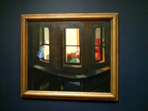 Night Windows, Edward Hopper, 1928