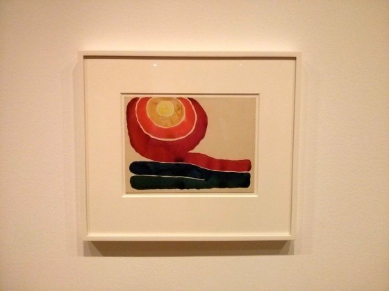 One of my favorites! Evening star, No. III, Georgia O'Keeffe, 1917