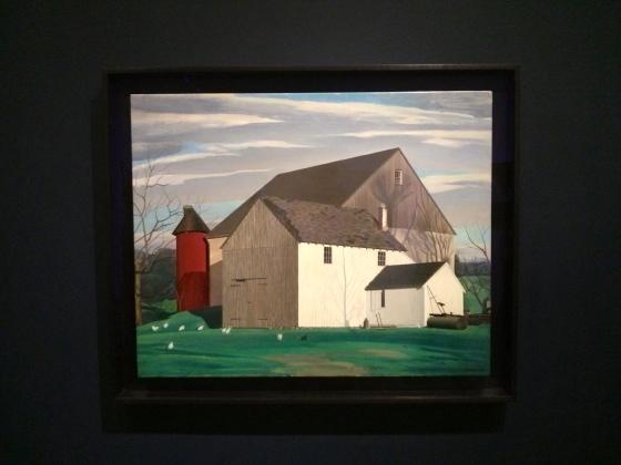 Bucks County Barn, Charles Sheeler, 1932