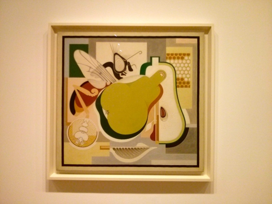 Wasp and Pear, Gerald Murphy, 1929
