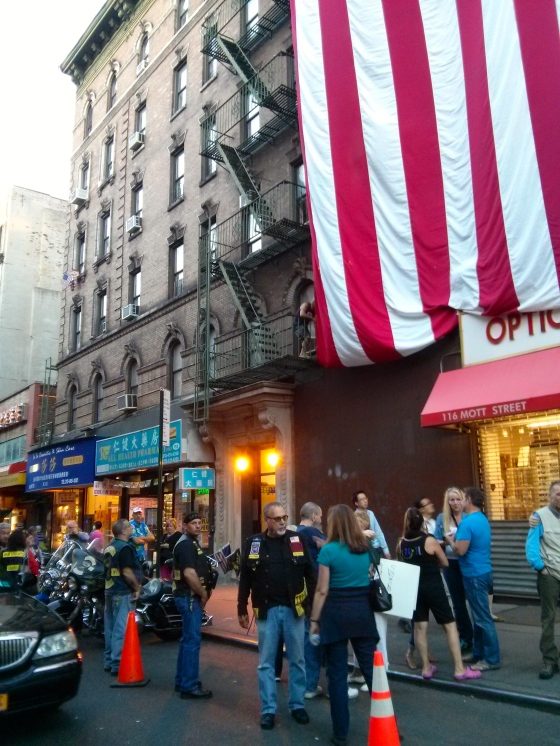 Back in Chinatown with the bikers