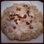Apple and Almond Risotto