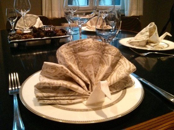 Turkey napkin folding: http://visual.ly/thanksgiving-etiquette?utm_campaign=website&utm_source=sendgrid.com&utm_medium=email