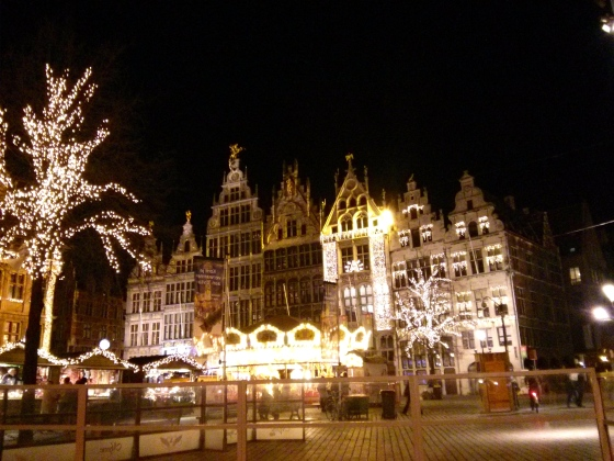 Christmas Market in the Grote Markt