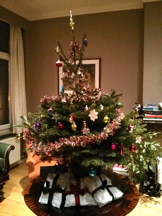 And our Christmas tree this year :)