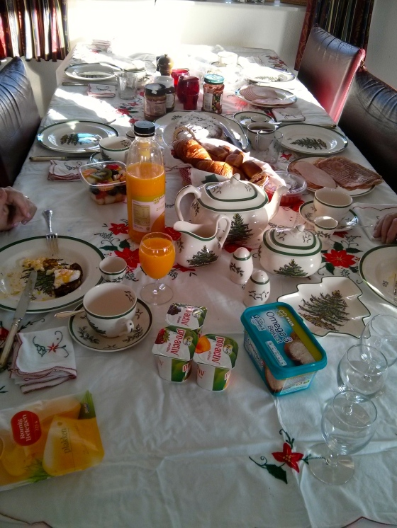 Yum! Christmas brunch!