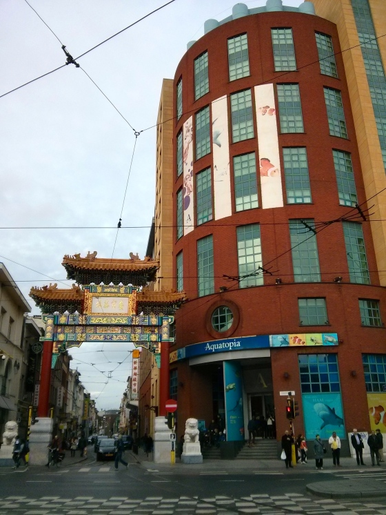 Aquatopia - located at the entrance to Chinatown