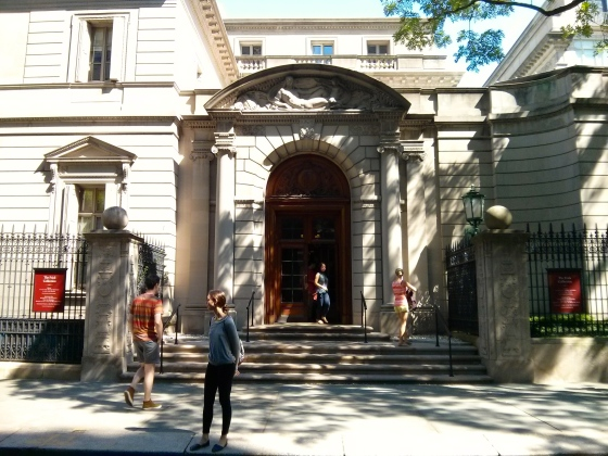 Outside The Frick Collection