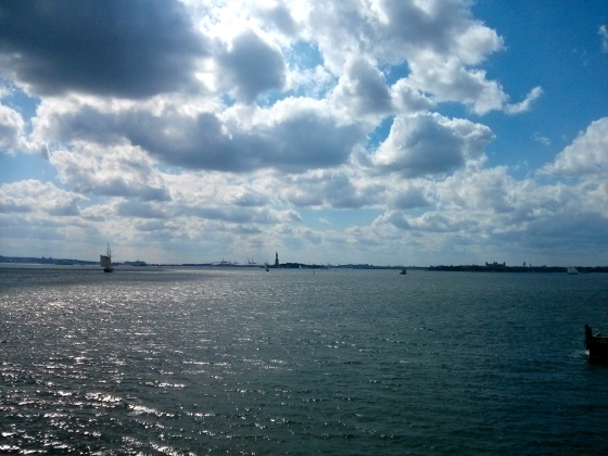 Statue of Liberty in view