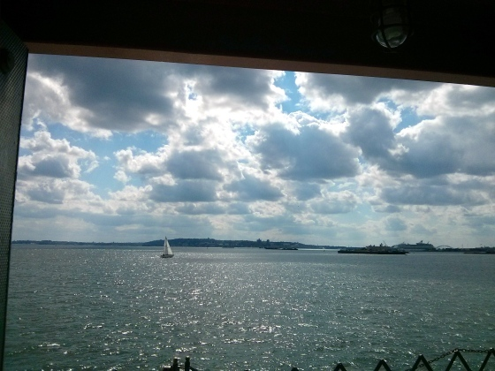 Approaching Staten Island