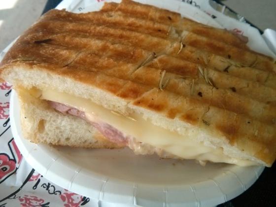 Koen's pastrami sandwich