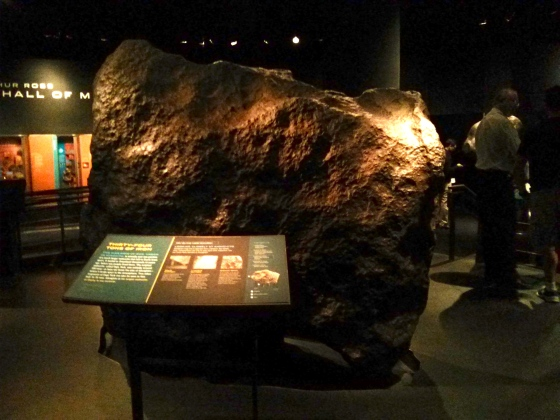 Ahnighito, the largest metorite on display in any museum in the world!