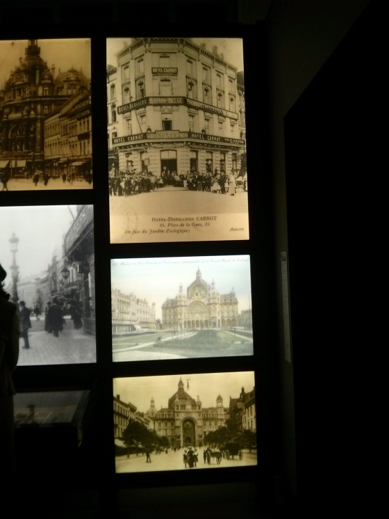 More old photos of the Keyserlei (the street you walk on once you arrive at the Central Train Station in Antwerp)