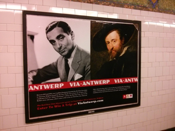 A little bit of Antwerp in NYC!