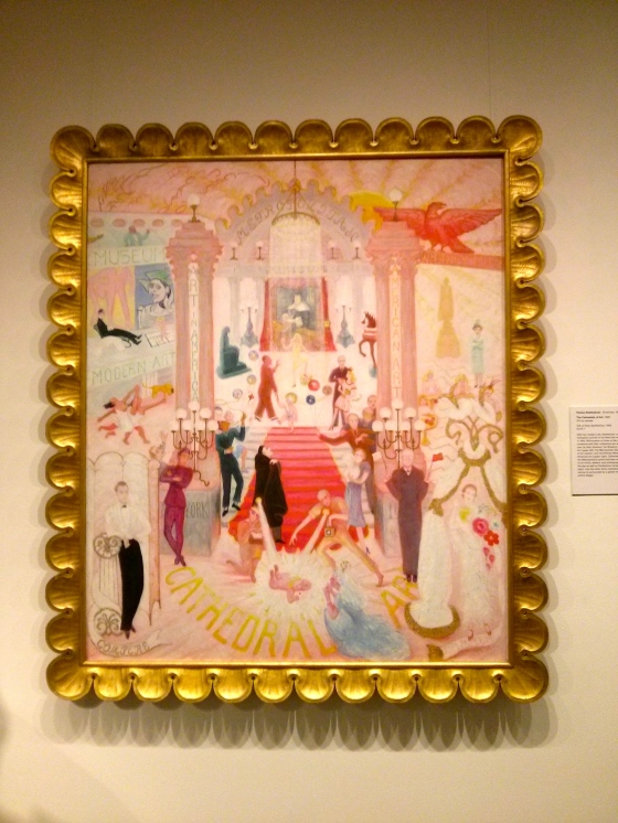 The Cathedrals of Art, Florine Stettheimer, 1942
