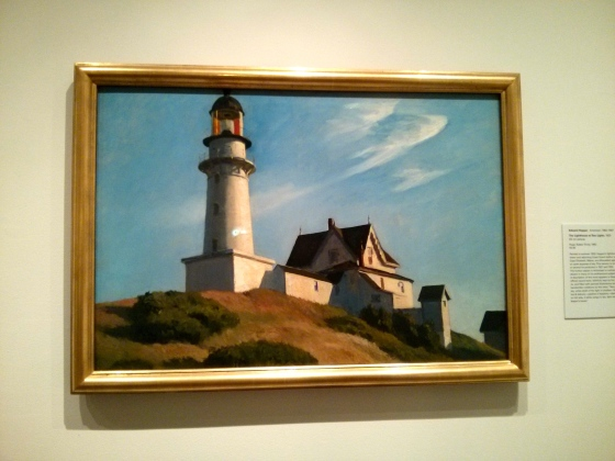 The Light House at Two Lights, Edward Hopper, 1929