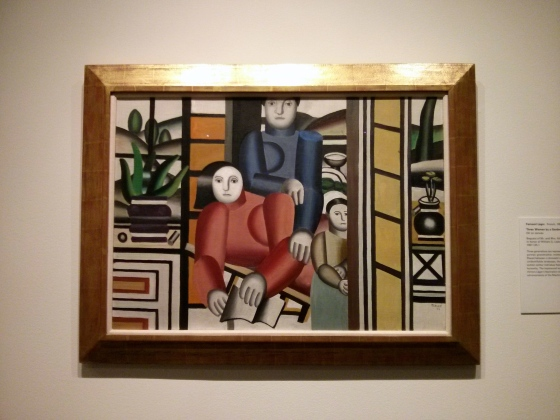 Three Women by a Garden, Fernand Léger, 1922