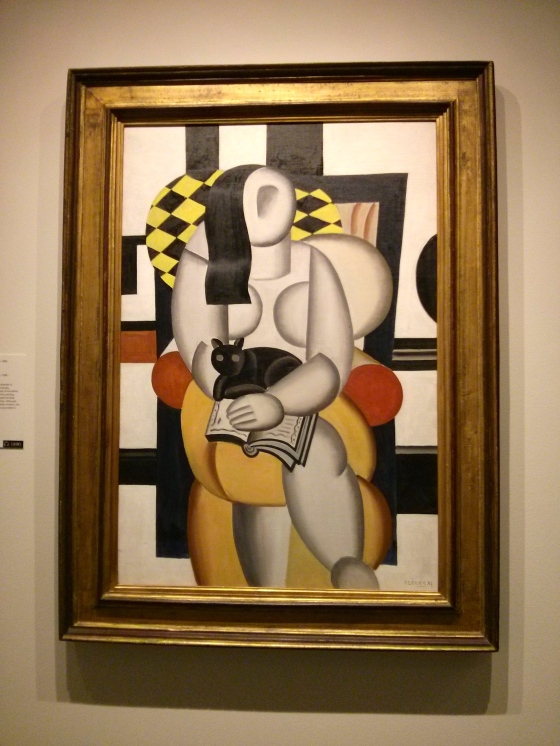 Woman with a Cat, Fernand Léger, 1921