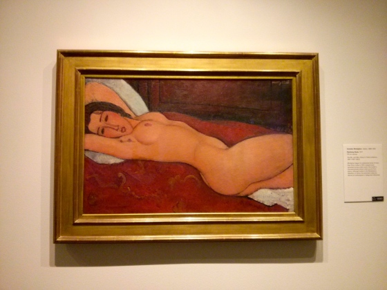 Reclining Nude, Amedeo Modigliani, 1917