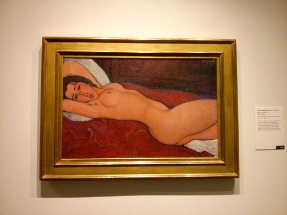 Reclining Nude, Amedeo Modigliani, 1917