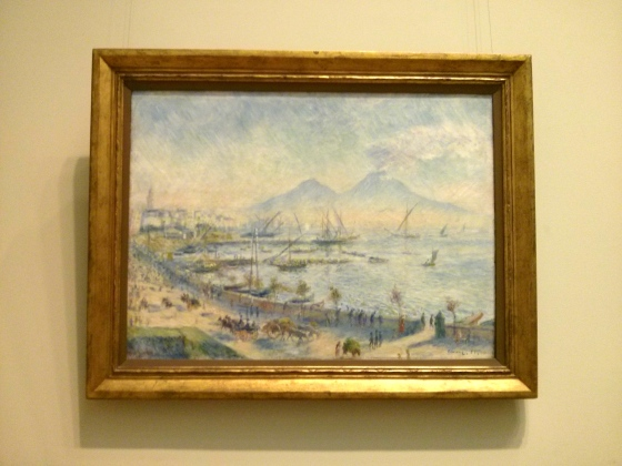 The Bay of Naples, Auguste Renoir, 1881