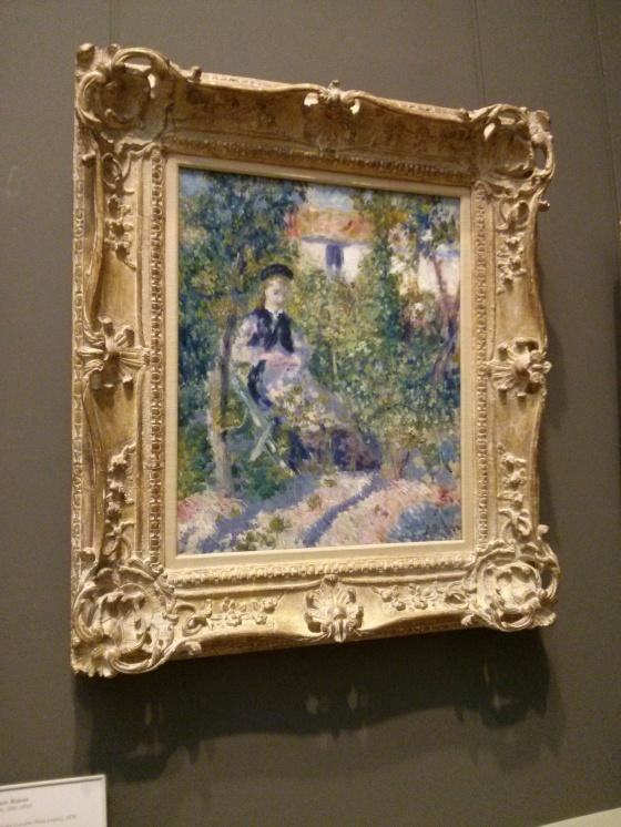 Nini in the Garden (Nini Lopez), Auguste Renoir, 1876