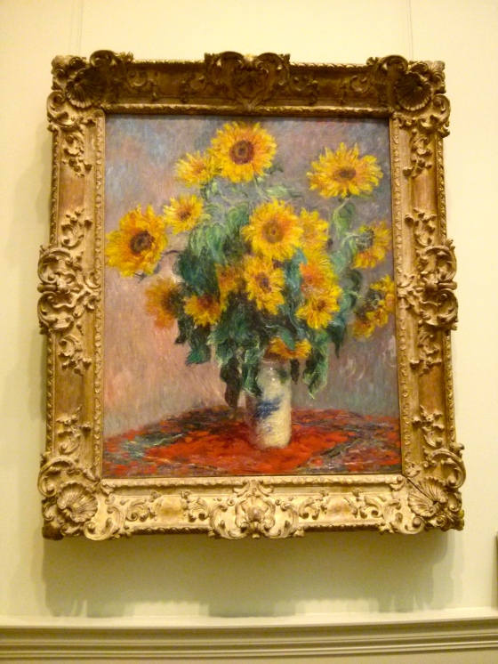 Bouquet of Sunflowers, Claude Monet, 1881
