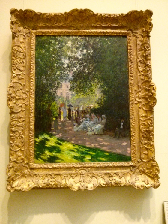 The Parc Monceau, Claude Monet, 1878