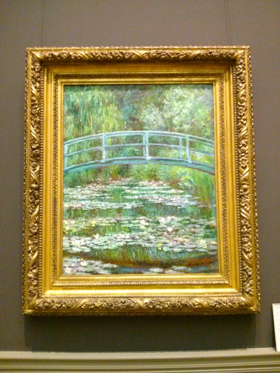 Bridge over a Pond of Water Lilies, Claude Monet, 1899