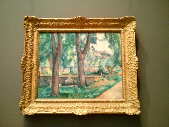 The Pool at the Jas de Bouffan, Paul Cézanne,