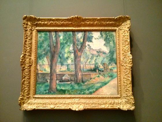 The Pool at the Jas de Bouffan, Paul Cézanne,