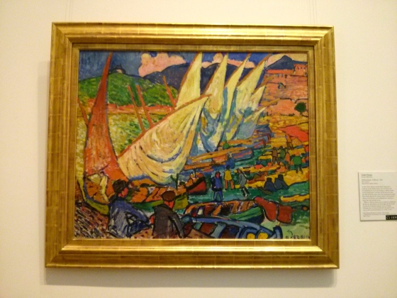Fishing Boats, Collioure, André Derain, 1905
