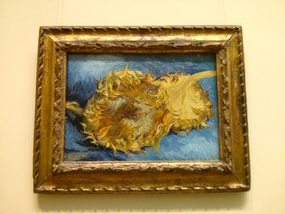 Sunflowers, Vincent Van Gogh, 1887