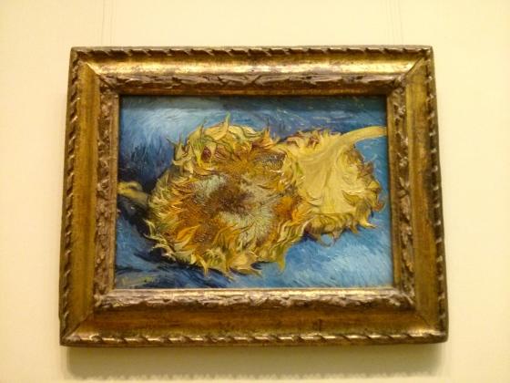 Sunflowers, Vincent Van Gogh, 1887