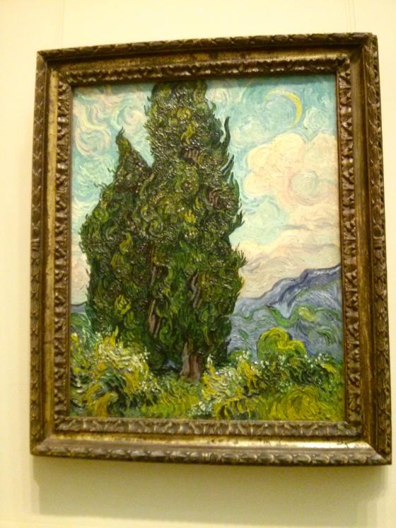 Cypresses, Vincent van Gogh, 1889