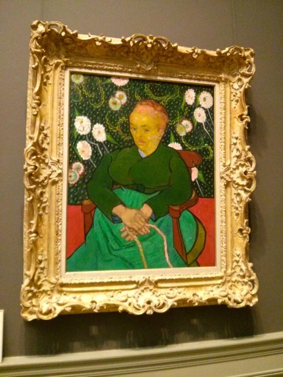 La Berceuse (Woman Rocking a Cradle; Augustine-Alix Pellicot Roulin), Vincent van Gogh, 1889