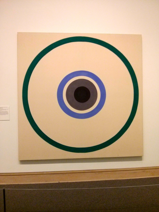 October, Kenneth Noland, 1961