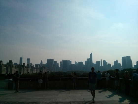 On top of The Met