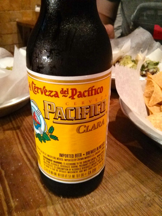 And of course a Mexican beer!