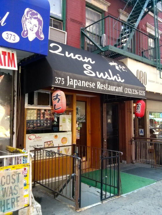 Sushi in Chinatown