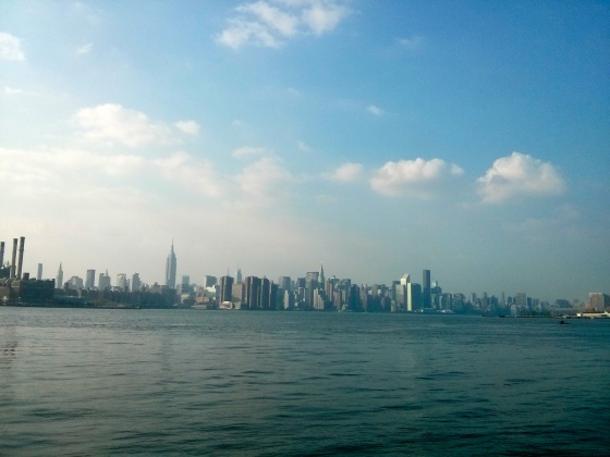 View of Manhattan from the Williamsburg Park