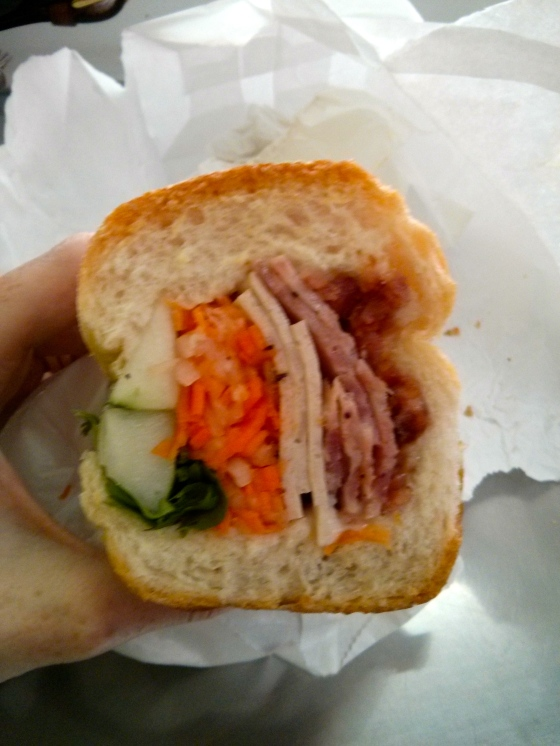 One last Bahn Mì from Saigon in Chinatown