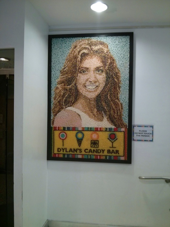 Candy Mosaic Portrait of Dylan Lauren