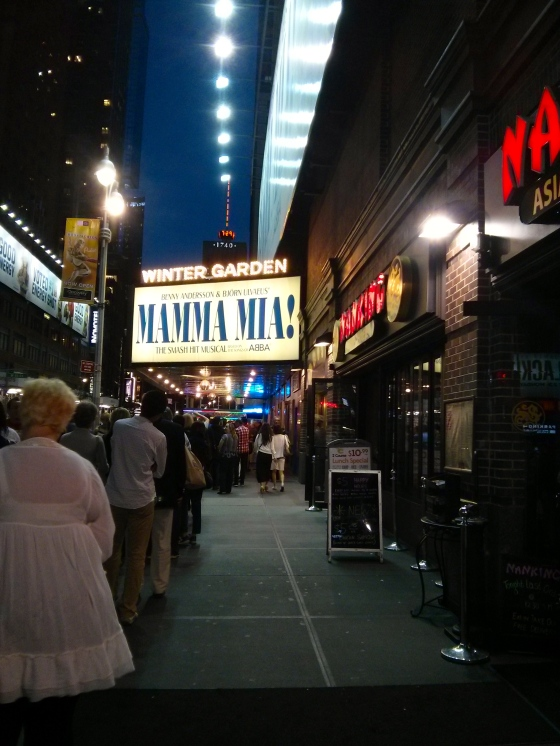 Mamma Mia on Broadway!