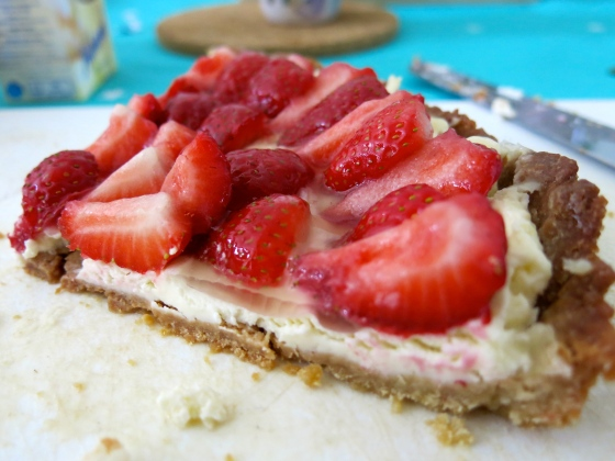 French strawberry pie