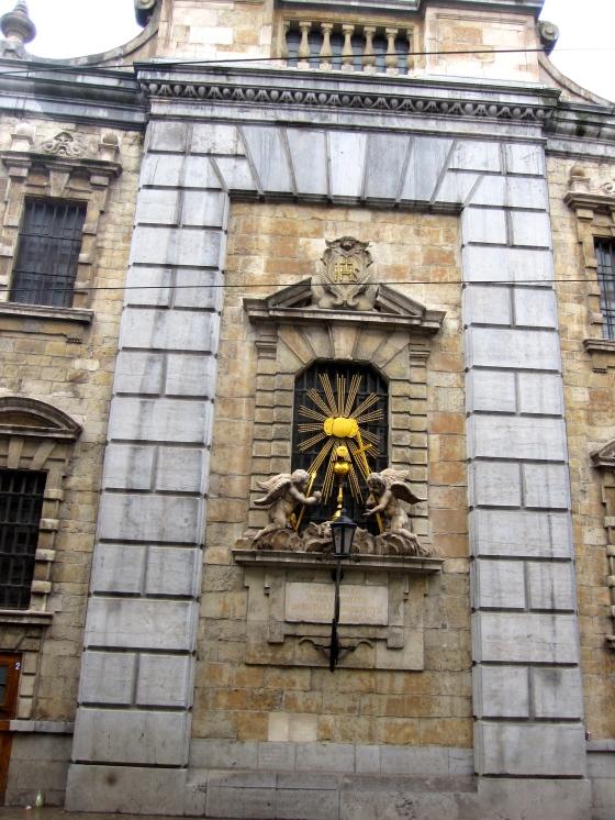 Back of the  Sint Carolus Borromeus Church