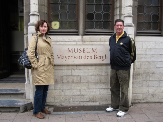 We visited the Mayer Van Den Bergh Museum (but couldn't take photos inside)