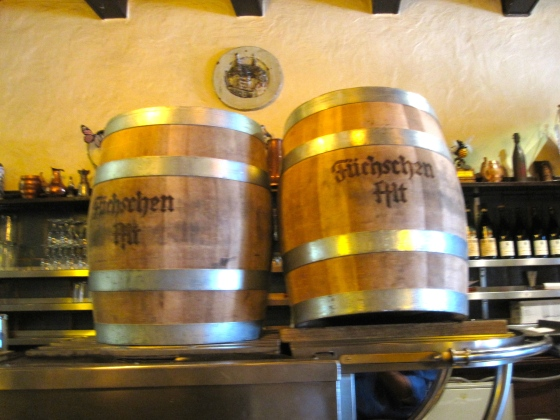 Barrels of altbier