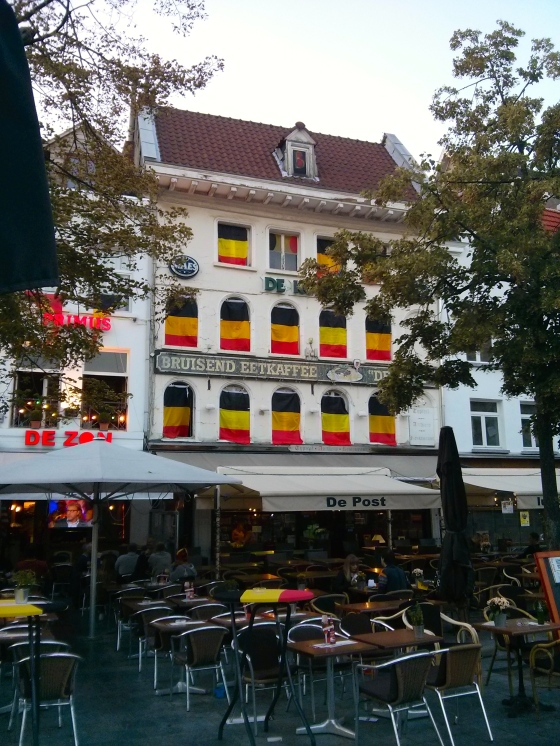 Supporting Belgium